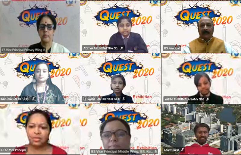 Bhavans IES Held 'Quest 2020' – a Virtual Science Exhibition