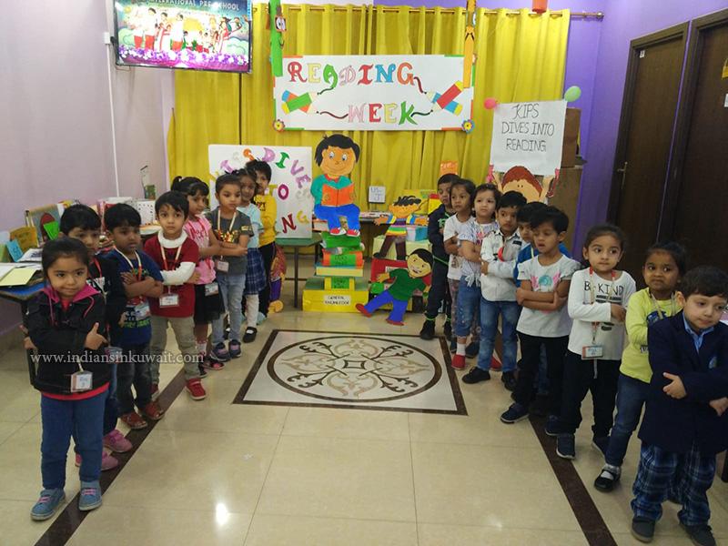 "Kids International Preschool Organized its Annual ""Reading week"""