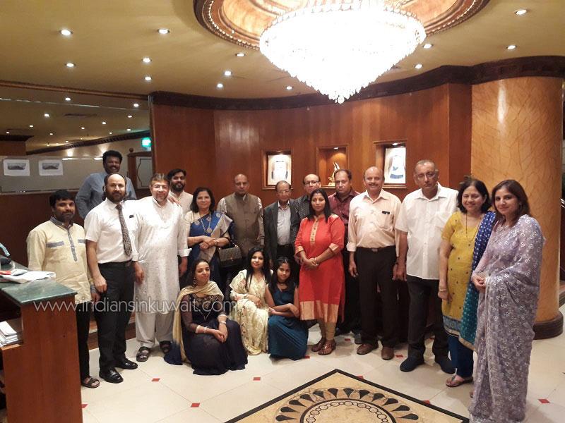 Writers' Forum Kuwait bids farewell to Ex-President