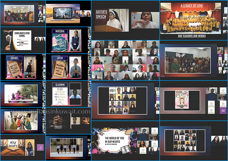 The Virtual Voyage - Carmel School Kuwait Celebrates Virtual Teacher's Day 2020.