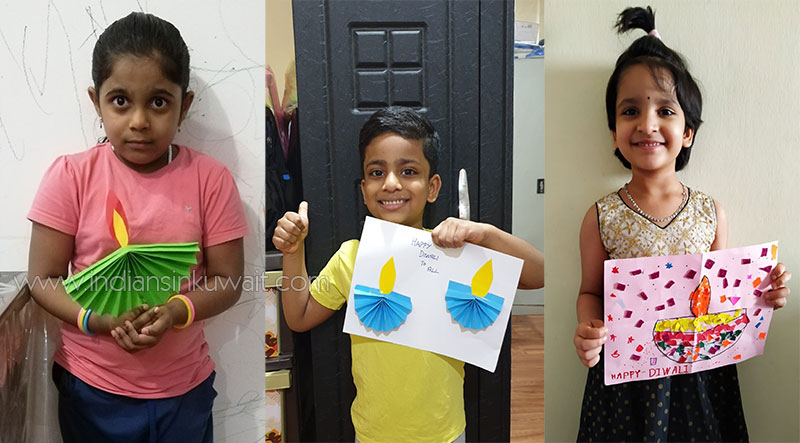 Kindergarten Smarters of Smart Indian school greets 'Happy Diwali' virtually
