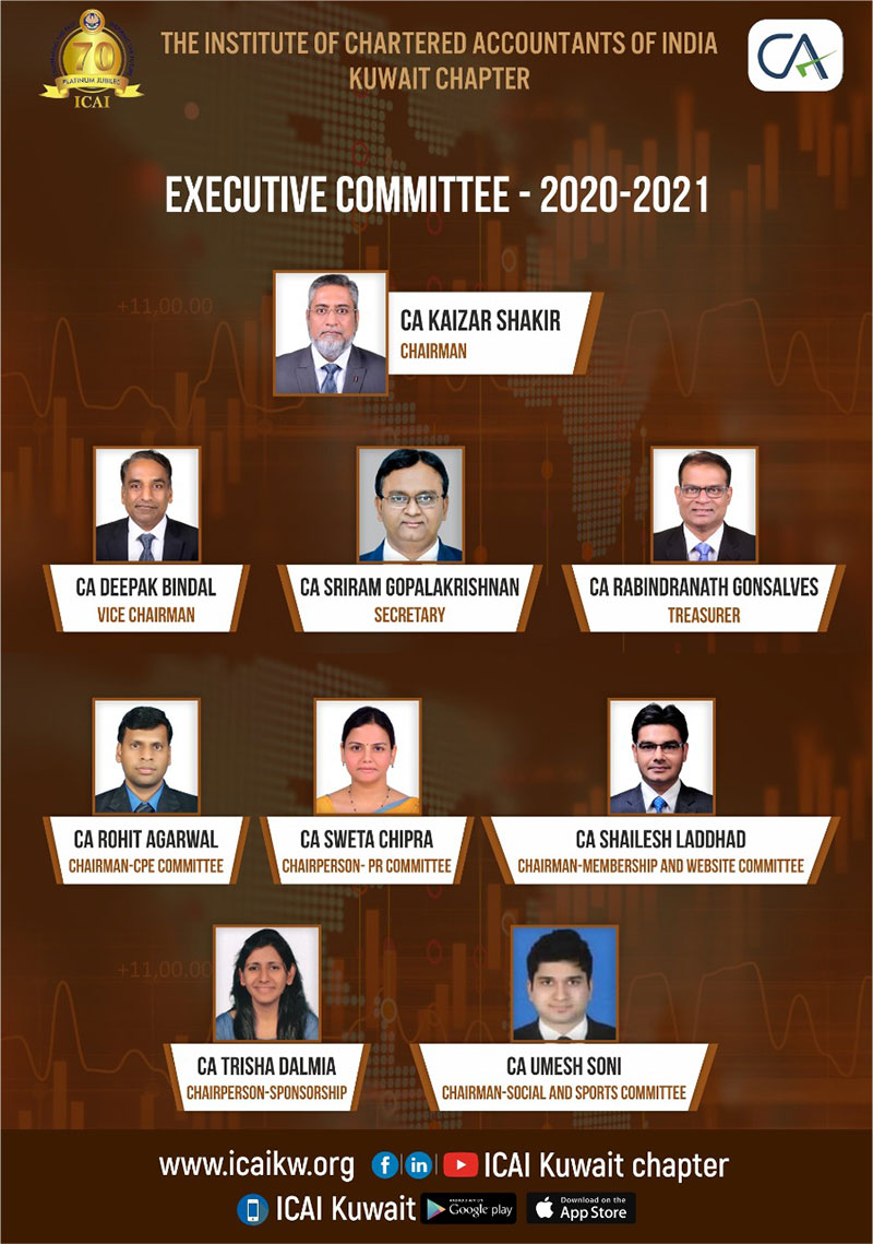 ICAI Kuwait Chapter conducted its 13th AGM through Webinar
