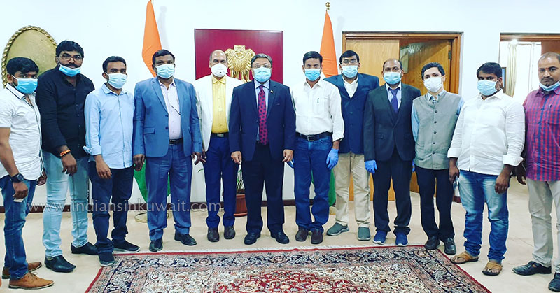 UTAF Committee members of Telugu Unions met Ambassador of India