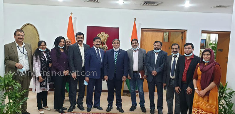 Indian Lawyers Forum Members met with New Indian Ambassador