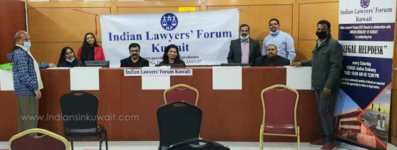 Indian Lawyers' forum set up free legal help desk at Indian Embassy