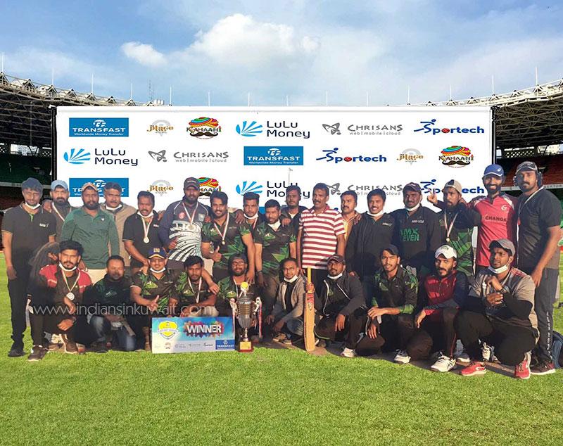 Al Mulla Exchange Champions in TransFast Cricket League Season-06
