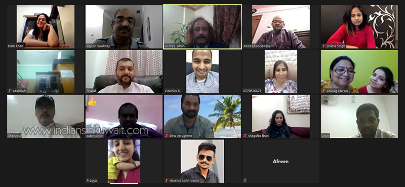 First Virtual Meeting of ICS team