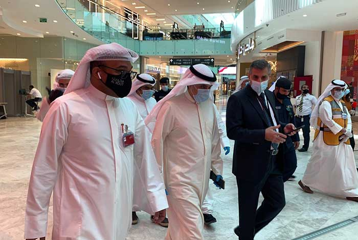 Municipality Director-General inspects Al Kout Mall