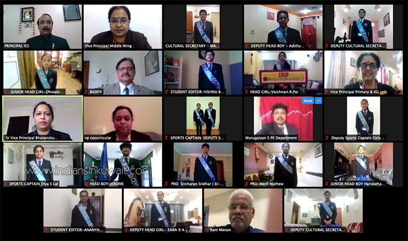 Maiden Virtual Investiture Ceremony at IES