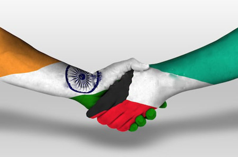 Friendship Between Kuwait and India