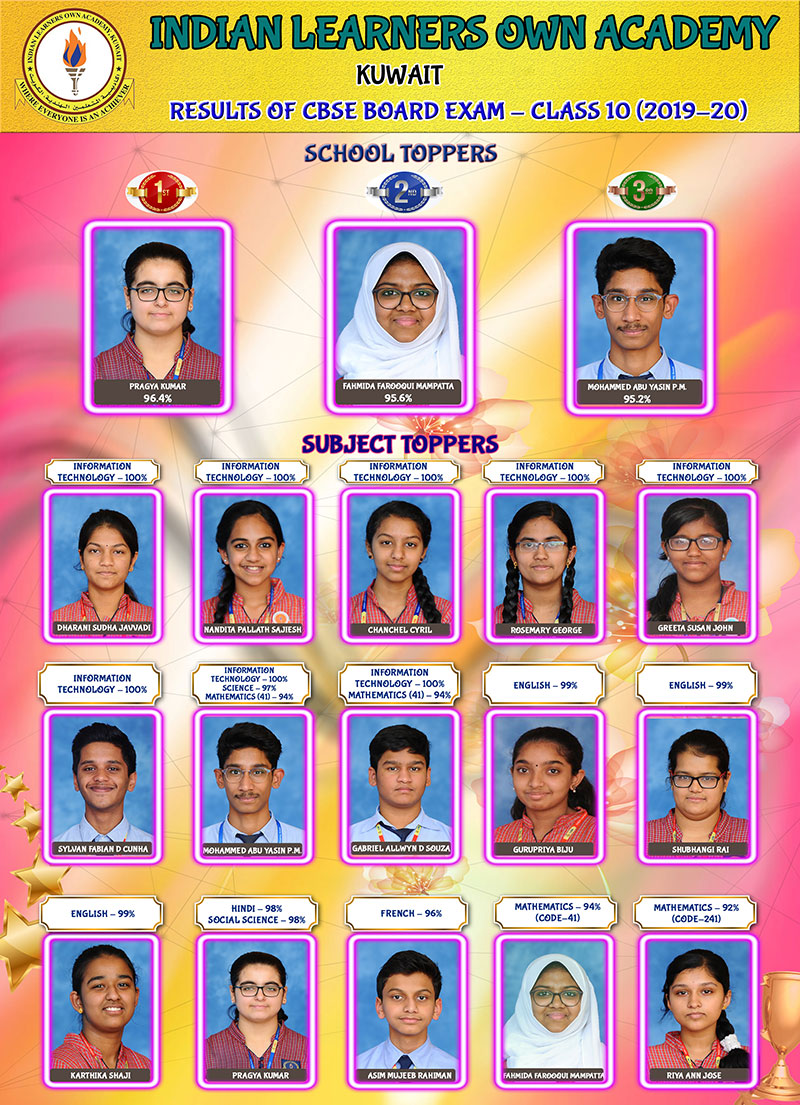Indian Learners' Own Academy Glistens With Triumph and Ascendancy