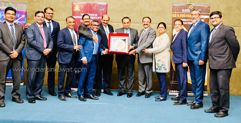 ICAI Kuwait Chapter and Al Mulla Exchange conducts Indian Budget Seminar