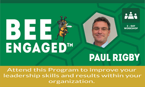Knowledge Club™ 2018 presents Bee Engaged ™ by Paul Rigby
