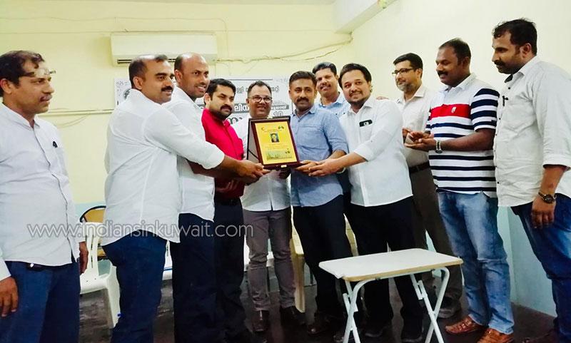 KMCC Koduvalli unit committee bid farewell to Nasser Kottakavayal