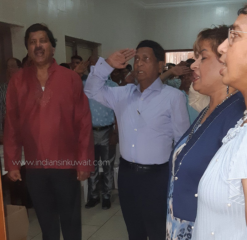 North Kanara Association celebrated the Feast of Assumption as well as the Independence Day of India