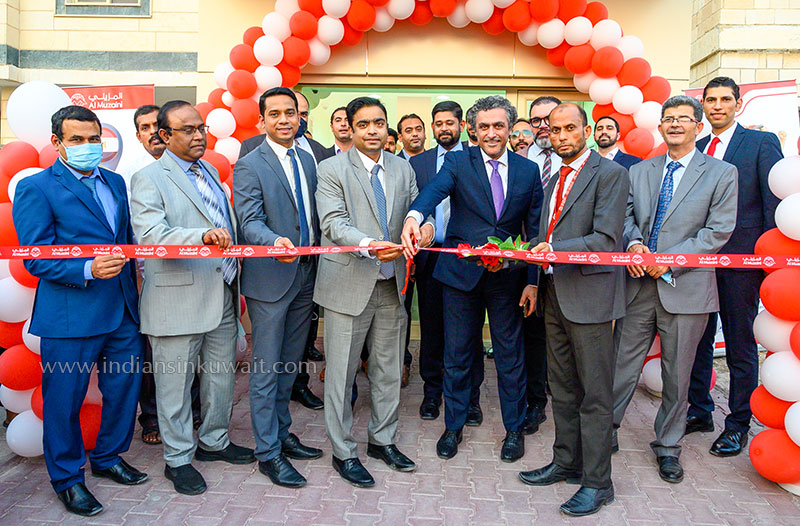 Al Muzaini Exchange  opens108th Branch at Abbasiya