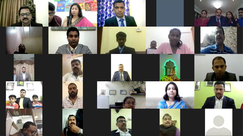 The 8th Annual General Body Meeting (AGM) of Billava Sangha Kuwait was held on 15th January 2021, through Zoom online webinar