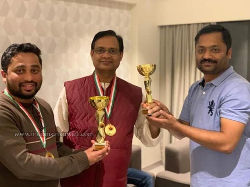 FOS -Friends Of Salmiya club held anniversary tournament