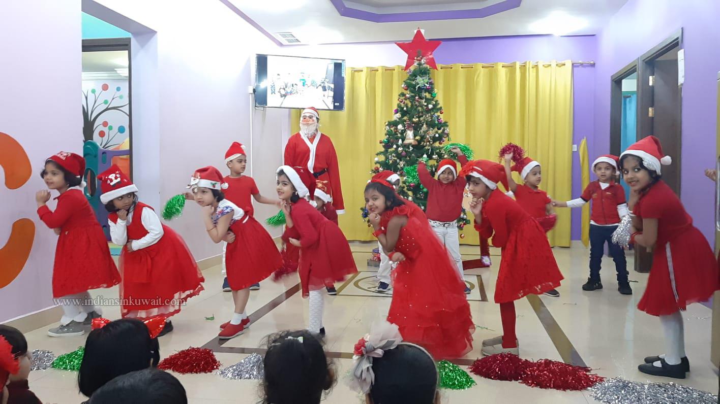 Kids International Preschool (Mangaf) Celebrated Christmas and New Year