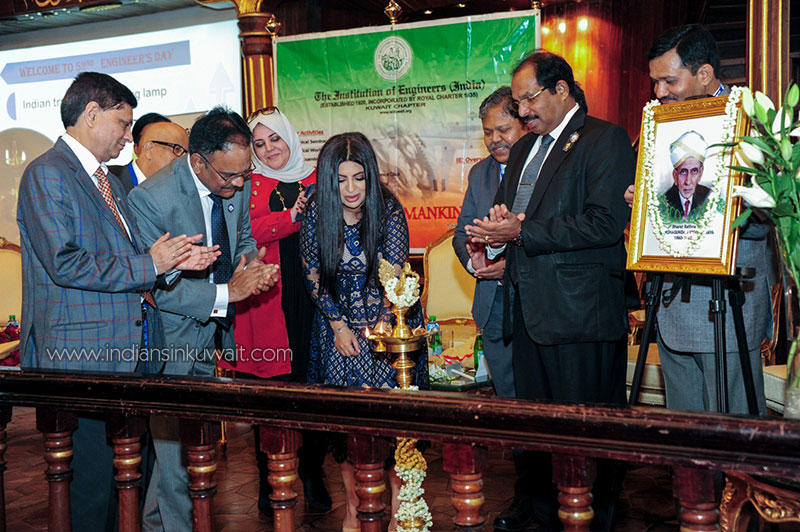 Institution of Engineers India Kuwait chapter organised Engineers day