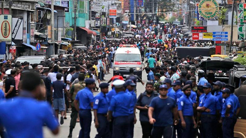 Cricketers condemn Sri Lanka blasts, send condolences