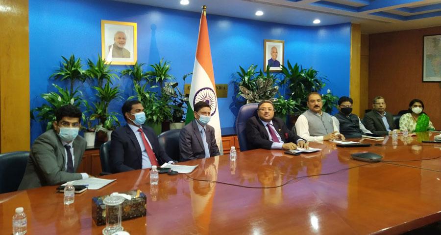 Ambassador held virtual meet with Protectors of Emigrants to discuss Indian