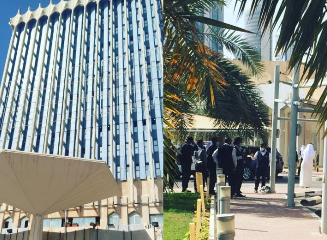 Work resumes at Kuwait MoI HQ after putting out fire