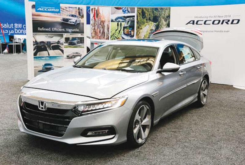 Honda slows Accord, Civic production