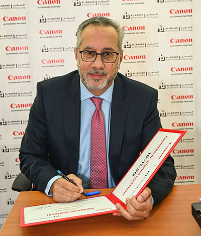 Canon Middle East extends its partnership with Mohamed Abdulrahman Al-Bahar Group in Kuwait