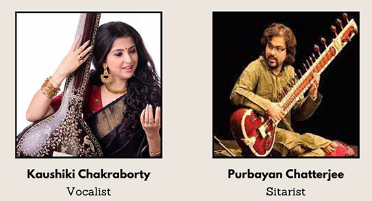 IBPC exclusive web concert with Kaushiki Chakraborty and Purbayan Chatterjee