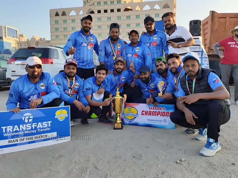 Desert Thunder Clinch The Title For Transfast Cricket League –Season 05