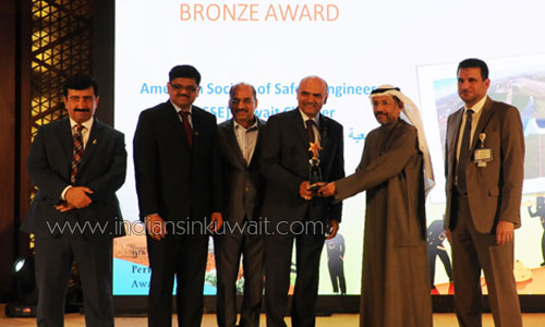 ASSE – Kuwait Chapter recognized with Prestigious KNPC award