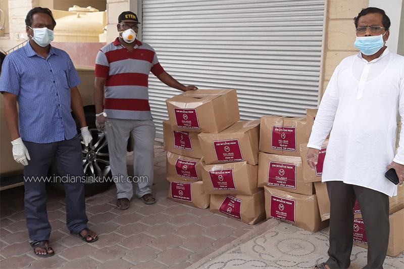 COVlD - 19  Situvation, ONCP Distributed  food  and grocery parcels to  expatriates