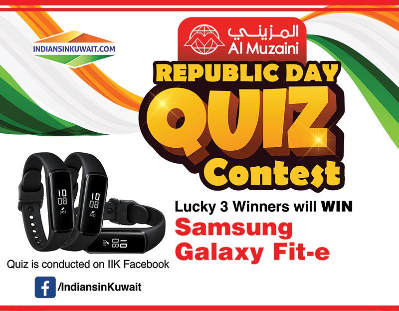 Win exciting prizes with Al Muzaini Republic Day Quiz