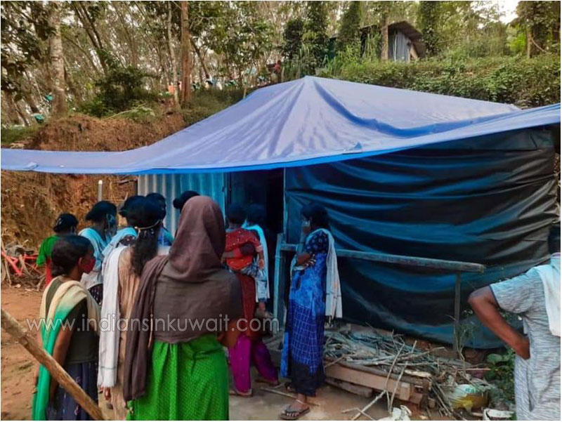 Lal Cares Kuwait to build a house for deceased Anjana