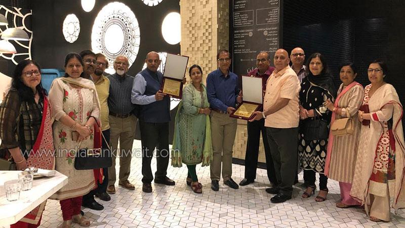 Thomsonians Bid Farewell to Sharma and Goyal