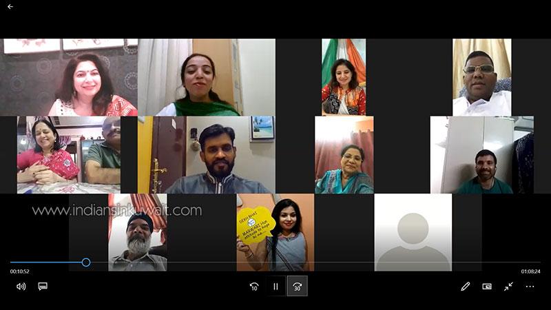 Writers' Forum Kuwait celebrates Indian Independence Day