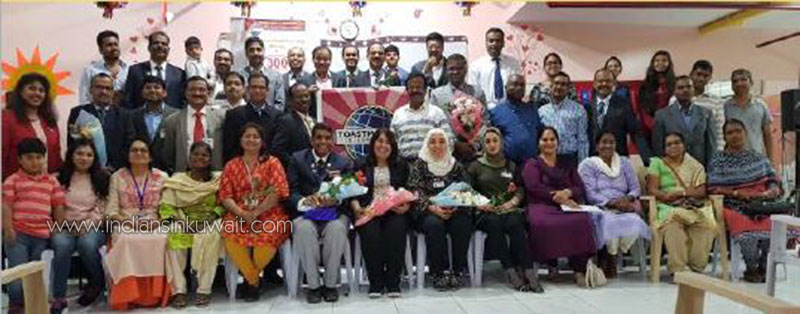 325th Meeting Celebration of South Kuwait Toastmasters Club