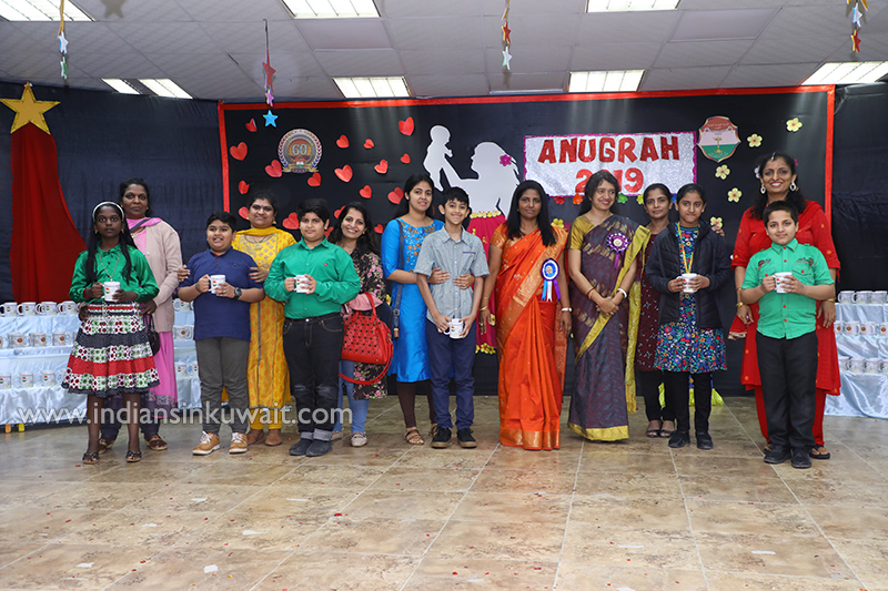 ICSK, Junior celebrated the Blessing Ceremony 'Anugrah' for the outgoing students of classes V and VI - 2018-19