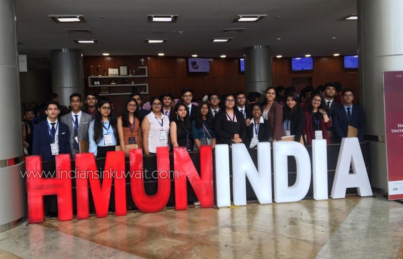 Faips Sizzles at HMUN 2019