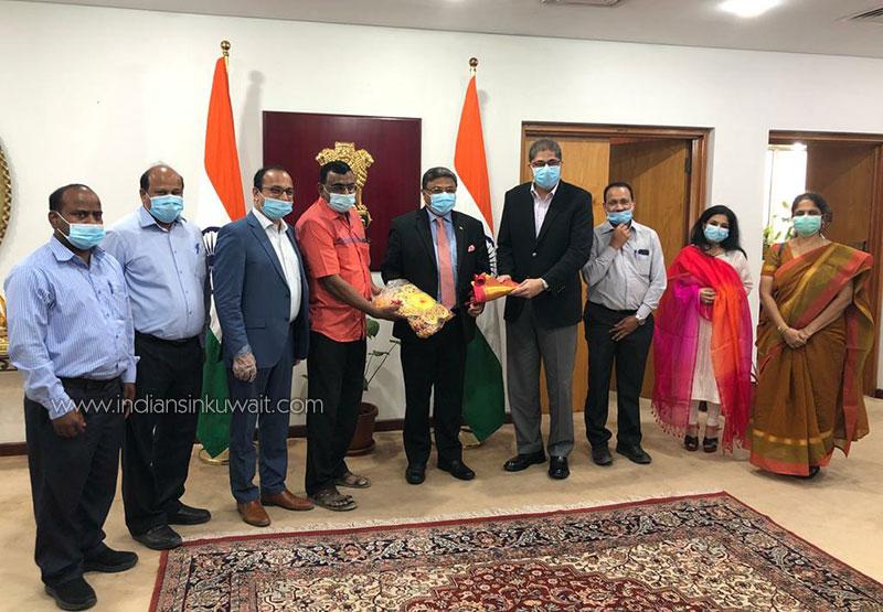 IFl team meets  Indian Ambassador H.E. Sibi George