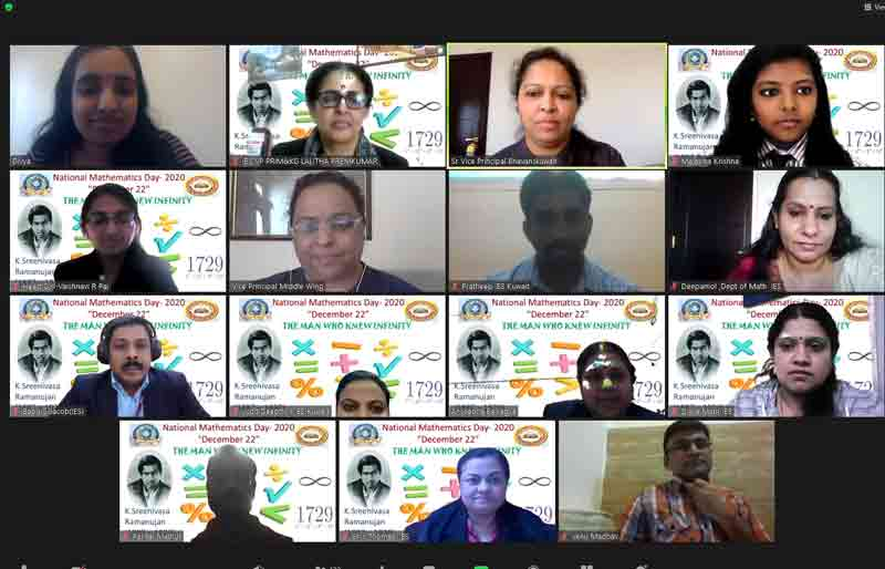 Bhavans IES Celebrates the National Mathematics Day