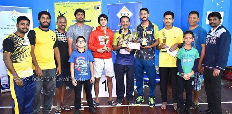 TVS Cargo Cup 2020 – Badminton Tournament