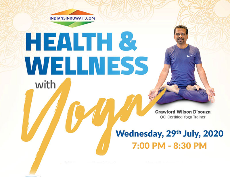 """Attend this webinar on """"Health & Wellness With Yoga"""" to stay yourself fit"""