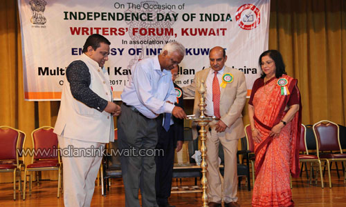 Writers' Forum Celebrated Independence Day of India-2017