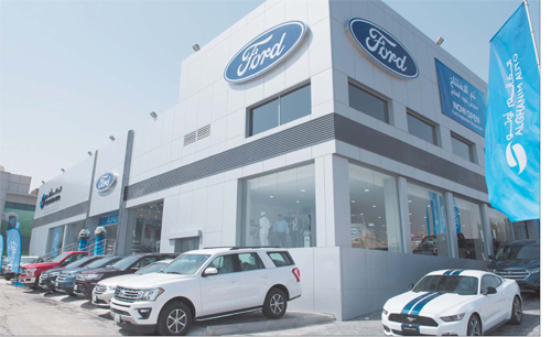 Alghanim Auto inaugurates new showroom in Fahaheel