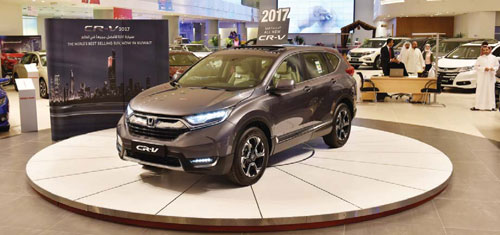 Alghanim Motors launches the completely redesigned and reengineered All-New 2017 Honda CR-V