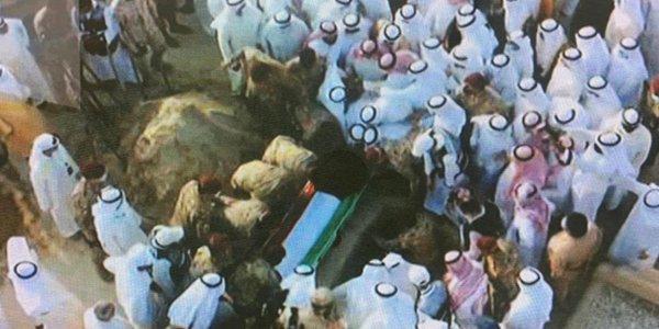 HH Late Amir Sheikh Sabah Al-Ahmad laid to rest
