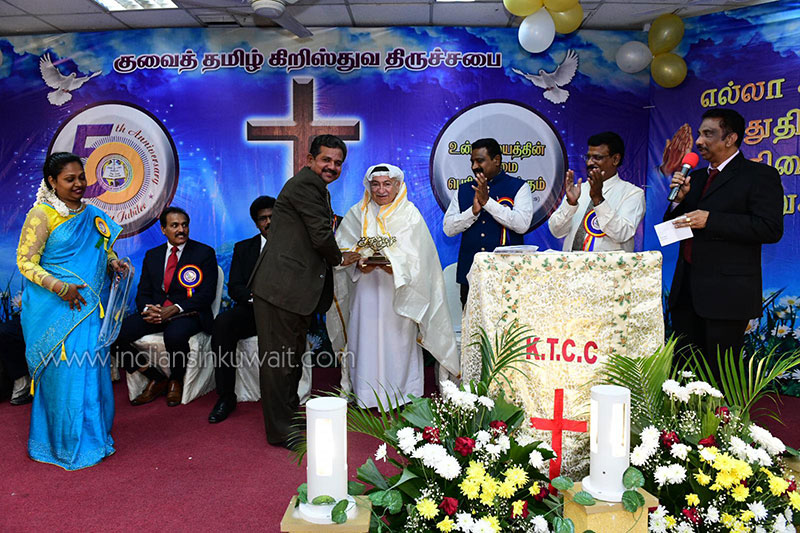 Kuwait Tamil Christian Congregation celebrates 50th anniversary