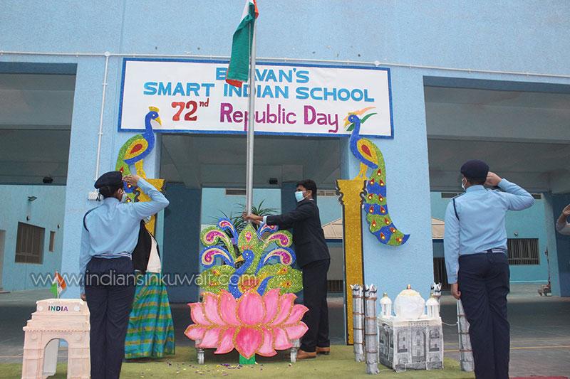 Bhavans SIS celebrates 72nd Indian Republic Day